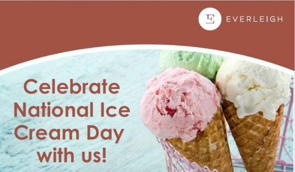 National Ice Cream Day!